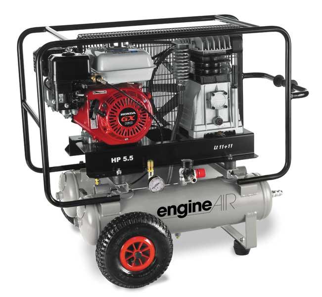 compresseur à moteur thermique enginair