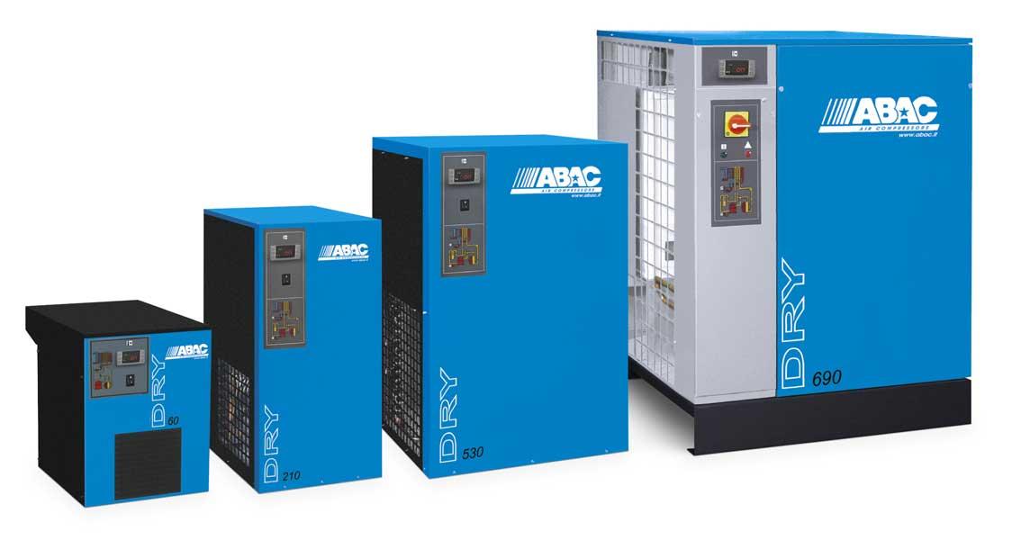 sécheur air compresseur abac dry 130