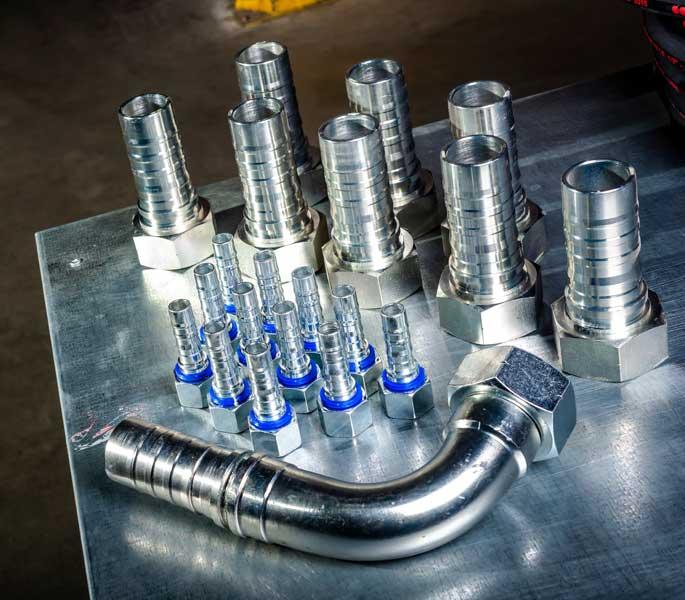 raccord hydraulique haute pression